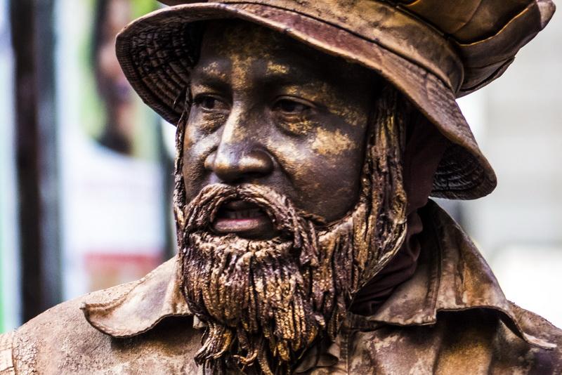 las estatuas de la rambla
