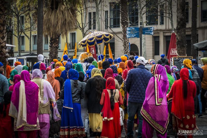 Fiesta de los Sijs en el Raval