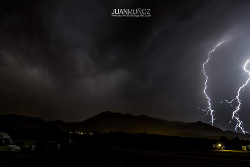 tormenta, fotografía nocturna