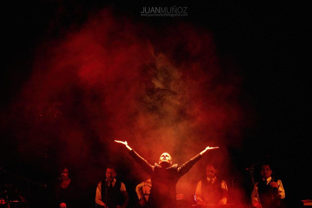 Atrapado en el tiempo, espectáculo flamenco, barberá del vallés