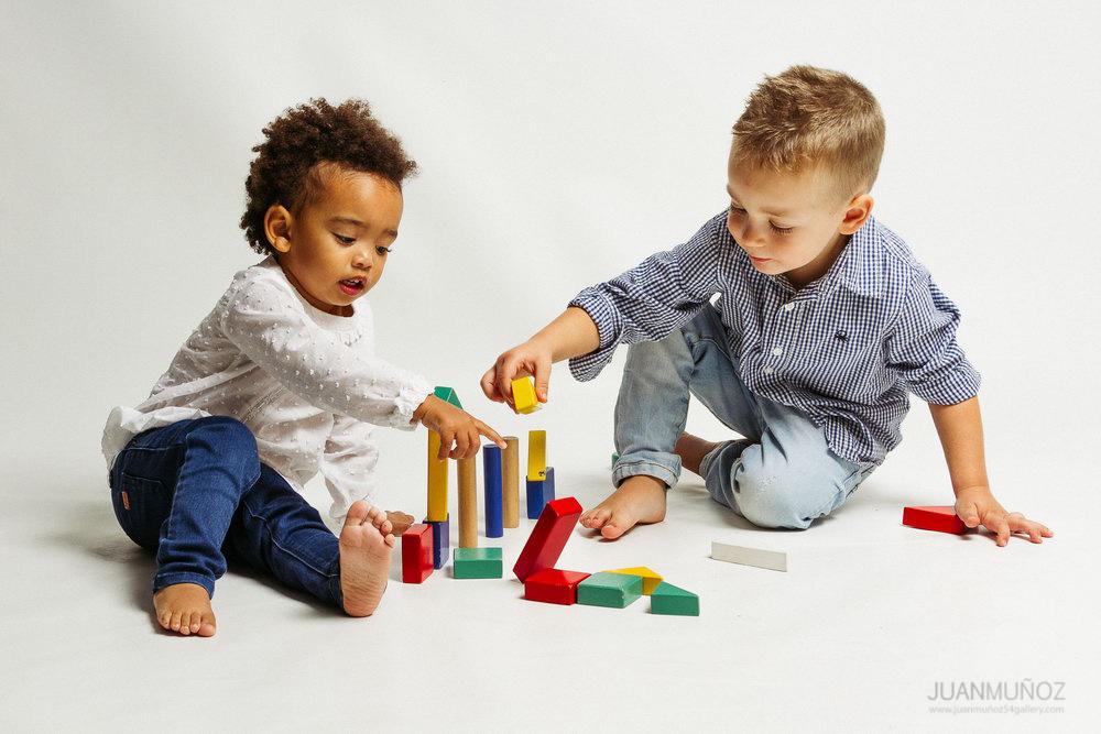 fotografía infantil, fotografía de estudio